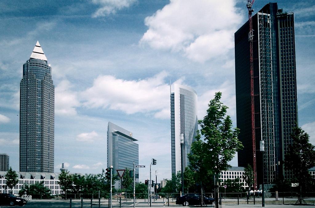 Around The Fair Ground In Frankfurt
